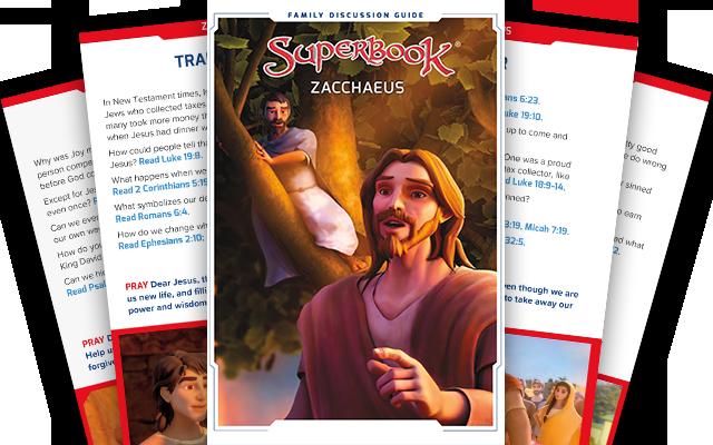 Zacchaeus - Family Discussion Guide