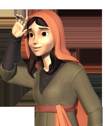 مریم (در جوانی)
