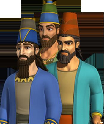 Sadrac, Mesac y Abed-nego