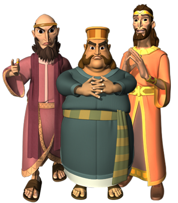 The Advisors to King Darius