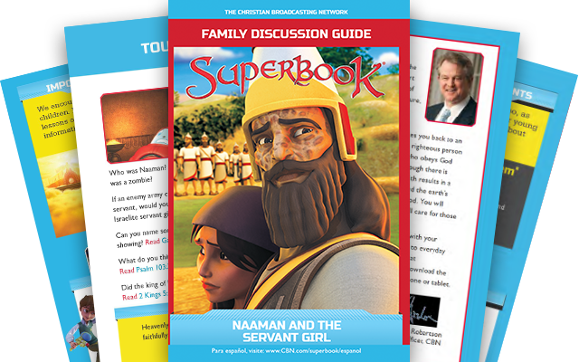 Naaman and the Servant Girl - Family Discussion Guide