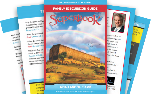 Noah and the Ark - Family Discussion Guide