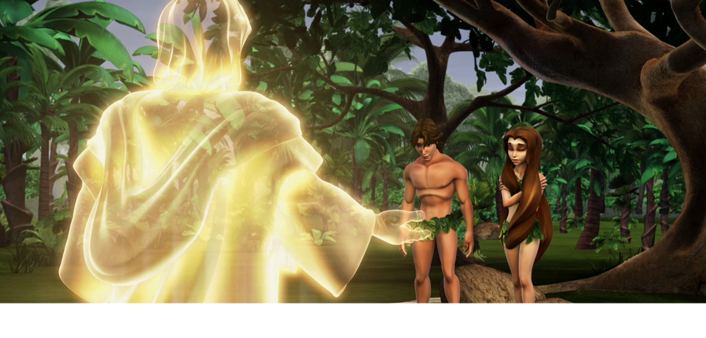 La început - Dumnezeu în Eden