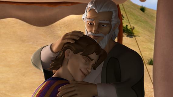 Iacov îl favorizează pe Iosif