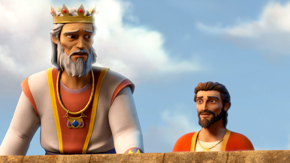 King David Tells Solomon About The Temple