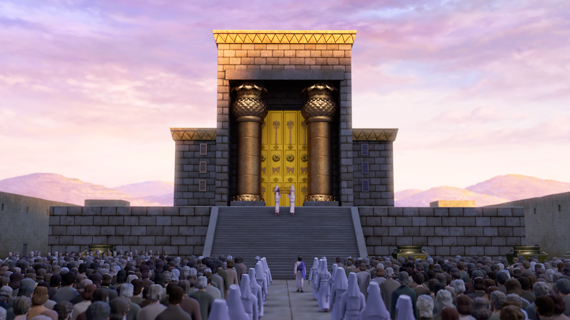 The Temple Dedicated