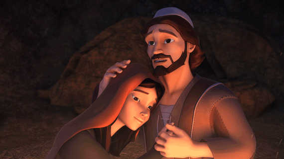 Иосиф и Мария